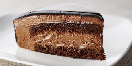 Gateau avec yaourt mousse au chocolat